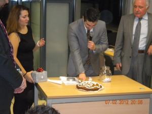 Κοπή Πρωτοχρονιάτικης Πίτας 2012 & Βραβεύσεις Παραγωγικότητας Γραφείου 2011