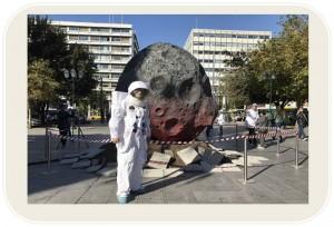 Ένας κομήτης και ένας αστροναύτης προσγειώθηκαν στο… Σύνταγμα